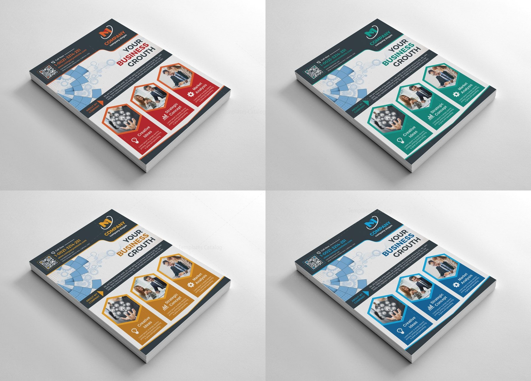 Modern Flyers Design Template