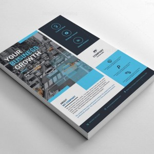 Rectangular Flyer Templates Design