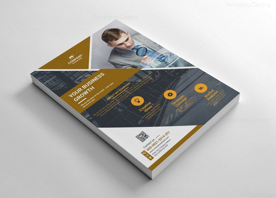 Simple Flyer Templates Design