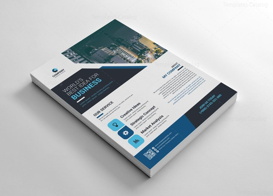 World Creative Flyers Templates 002667 Template Catalog