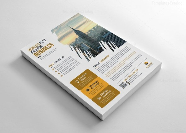 Creative Company Flyers Design