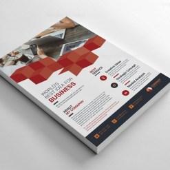 Cubes Creative Flyer Design