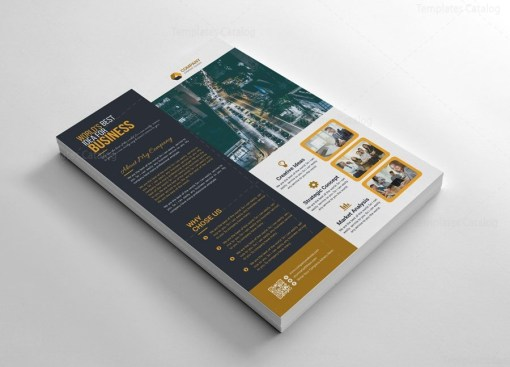 Optimal Flyers Template Design