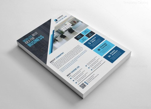Print Corporate Flyers Design