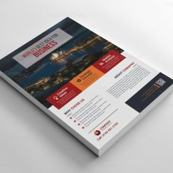 Print Flyers Template Design