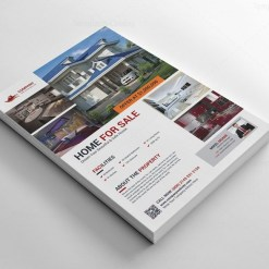 Real Estate Creative Flyer Design