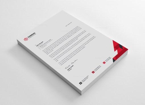 Clean Letterhead Design