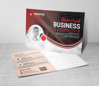 Free Postcard Design Template
