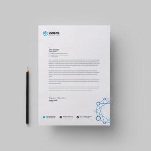Modern Letterheads Design