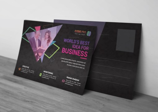 Best Seller Business Postcard Design