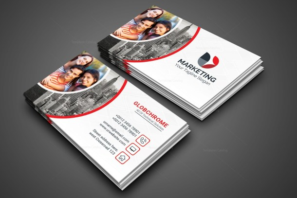 Marketing PSD Business Card