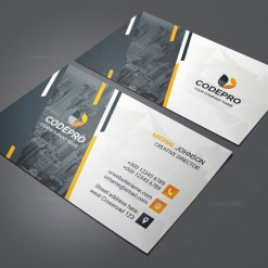 PSD Company Business Card