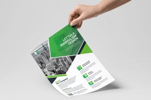 PSD Clean Flyer Templates