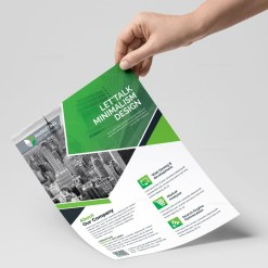 PSD Clean Flyer Templates