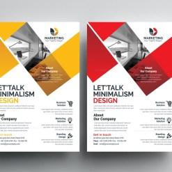 PSD Elegant Flyer Templates