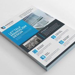 PSD Minimal Flyer Design Templates