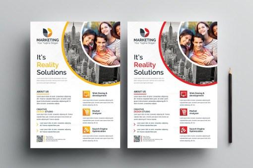 PSD Sleek Flyer Templates