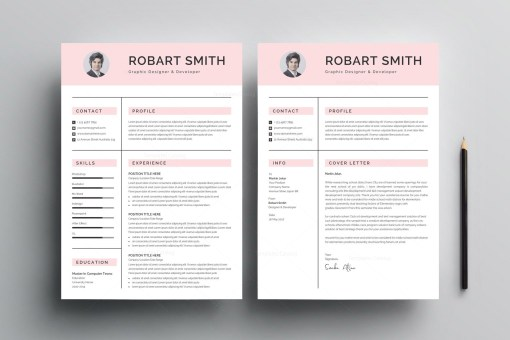 Professional Print Resume Template