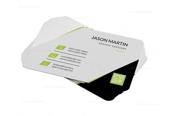 Minimal Name Card Template