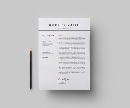 Standard Vector Resume Template