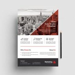 Modern Business PSD Flyer Templates