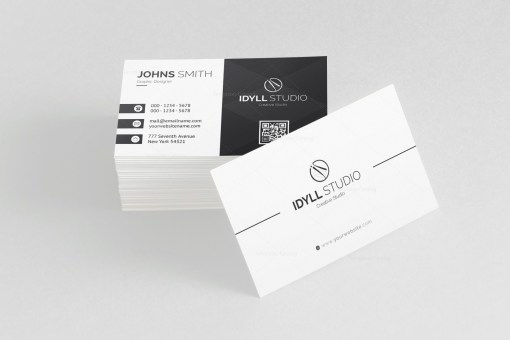 Vector Name Card Template