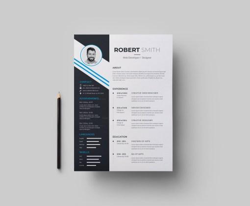 EPS Elegant Resume Design