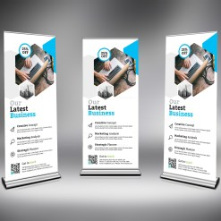 PSD Roll-Up Banner Template