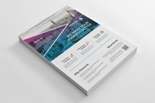 Creative PSD Business Flyer Poster