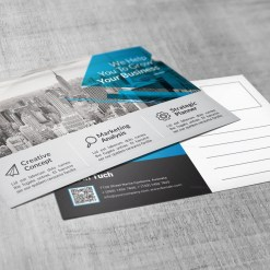 PSD Fashion Business Postcards