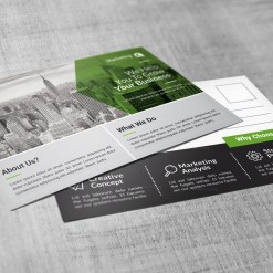 PSD Modern Postcards Design