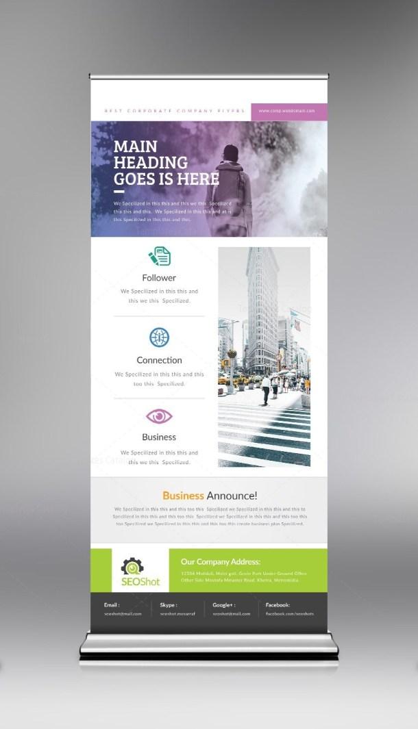 PSD Roll-Up Design Template