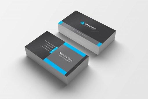 PSD Dark Business Cards