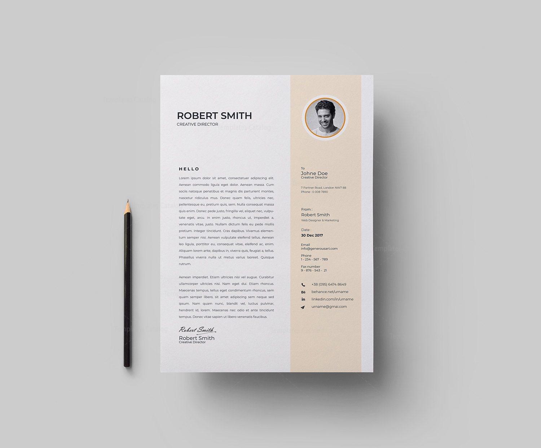 Professional Vector Resume Cv Design 003088 Template Catalog