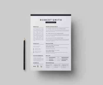 Versatile Vector Resume CV Design