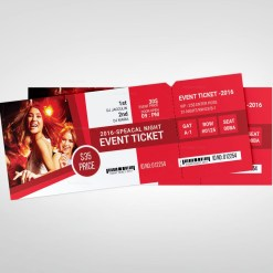 Creative Event Ticket Templates