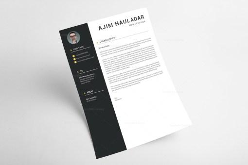 Professional Resume CV Template
