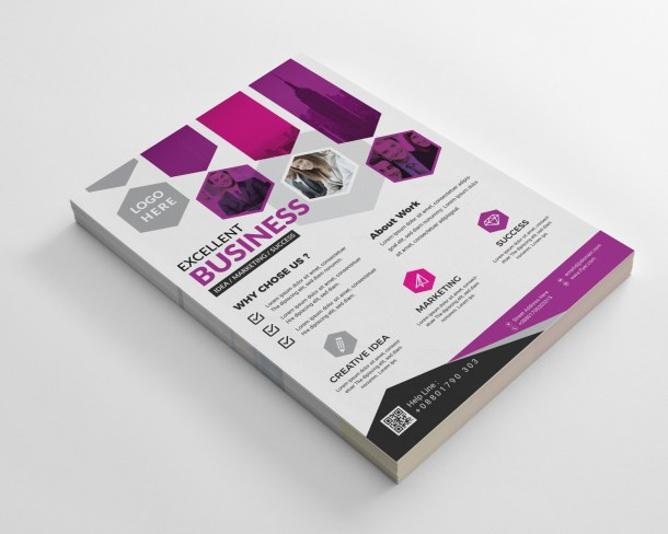 Stylish Business Flyer Templates
