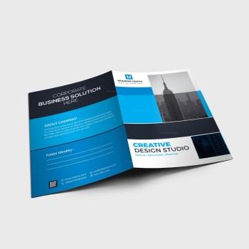 EPS Corporate Folder Design