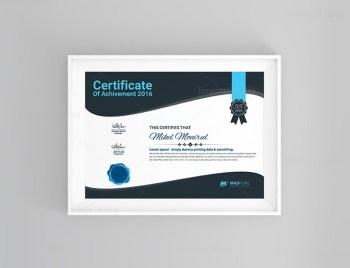 Creative Certificate Template Design