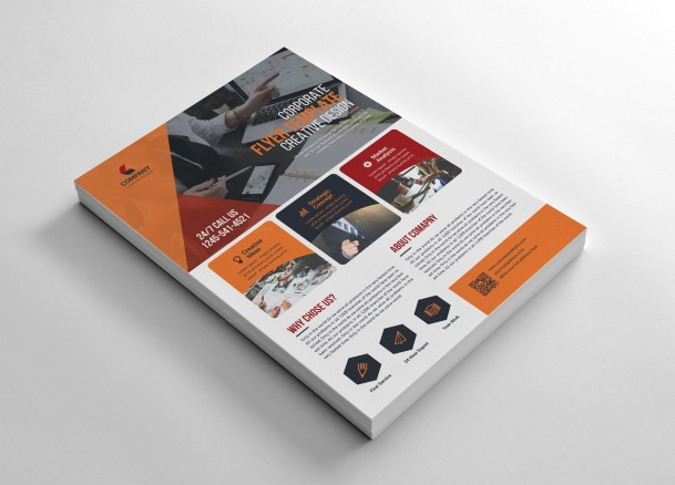 Adobe Flyer Template