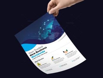 Photoshop PSD Flyer