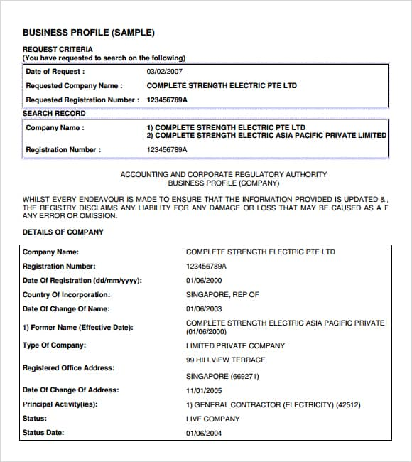 32 free company profile templates in word excel pdf company profile example 1146964 wajeb Choice Image