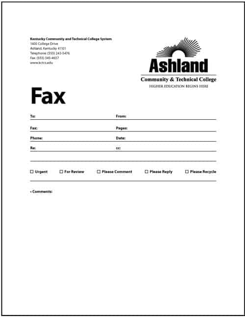 Fax Cover Sheet sample 12.41