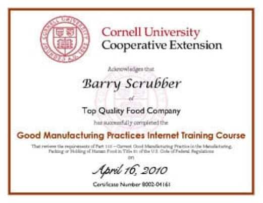 Free Certificate of Completion example 2941