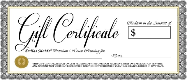 Cleaning gift certificate template roho4senses cleaning gift certificate template yelopaper Image collections