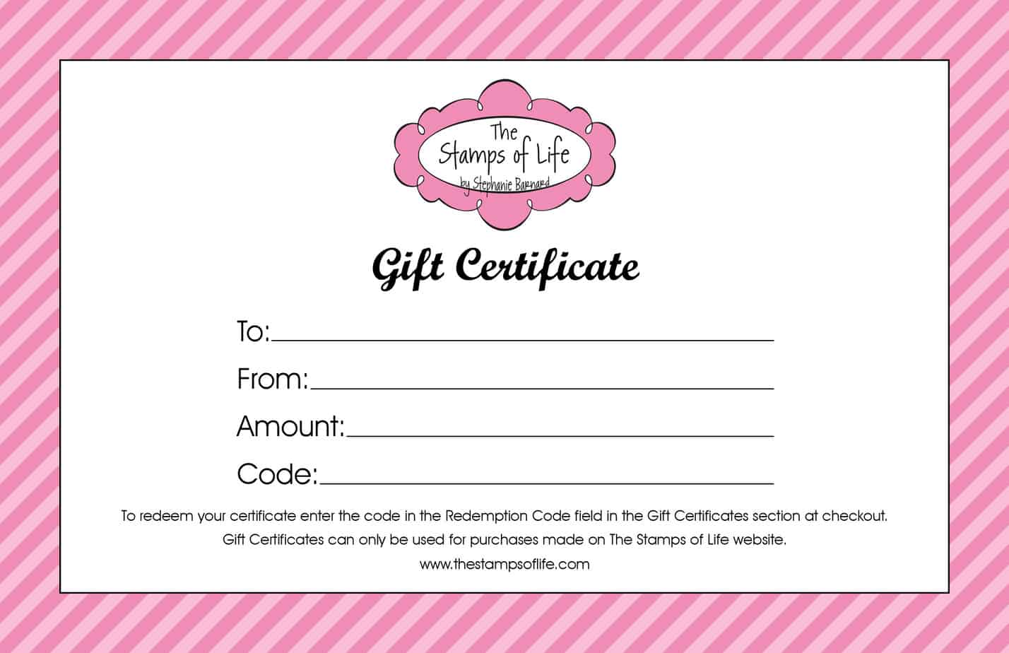 21 gift certificate templates word excel formats