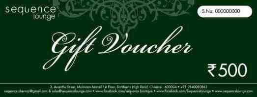 Gift Voucher sample 12.641