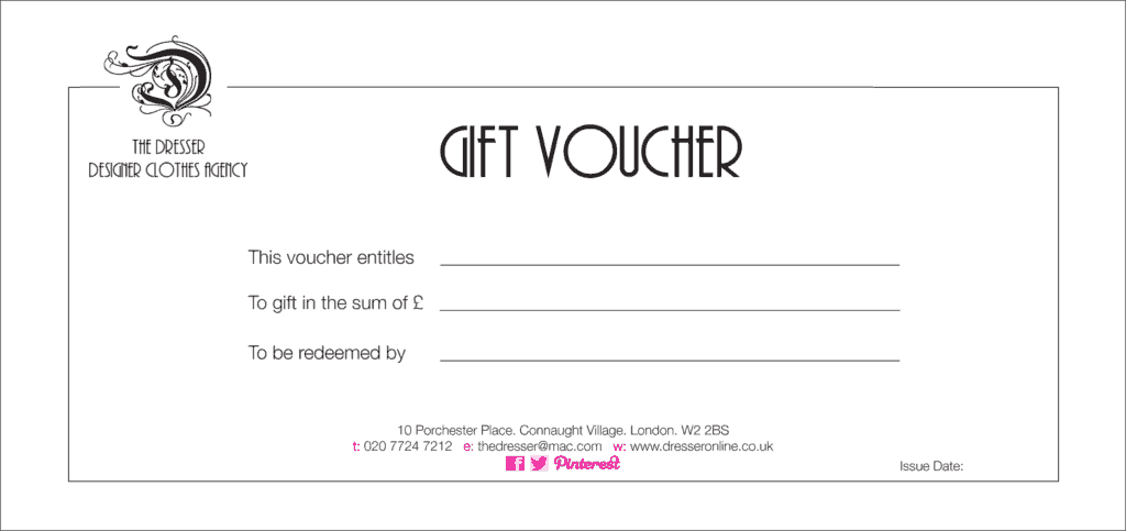 Gift Voucher Template Word  Gift Voucher Templates Word