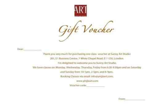 Gift Voucher sample 18.641
